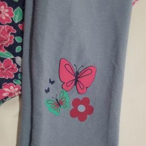 Nannette Matching Sets - NWT Nannette Kids Flower Tunic Legging Set